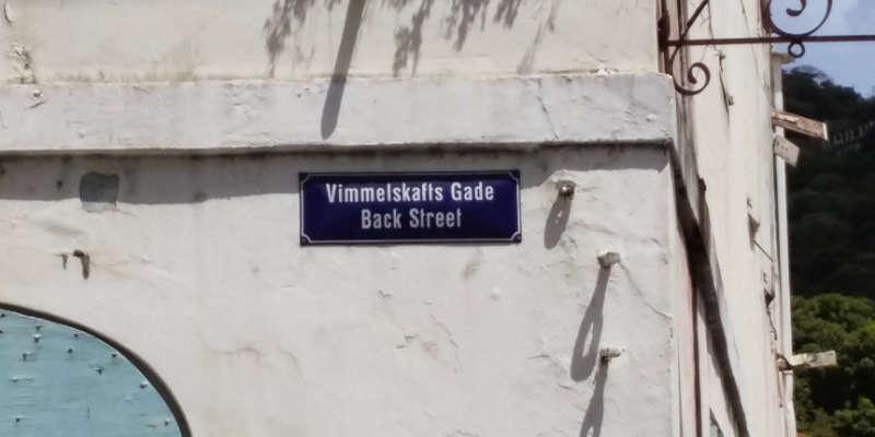 Dansk gadenavn Krydstogt i Caribien