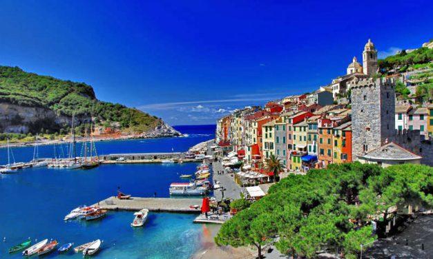 Tag på krydstogt i Middelhavet