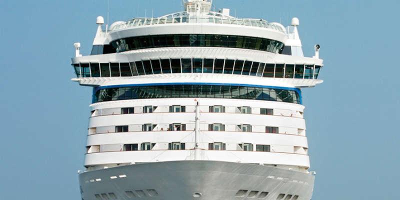 Kommer for sent til krydstogtskibet