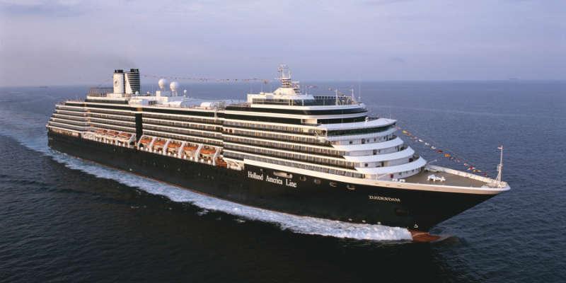 MS Zuiderdam cruise fra København
