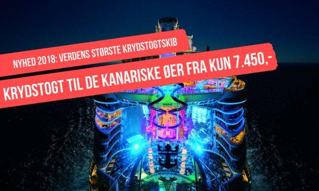 Krydstogt med verdens største krydstogtskib til superpris